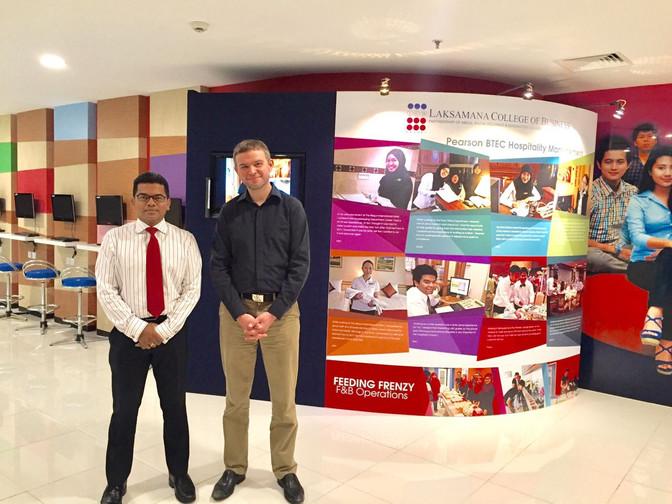LCB students attend talks by UK  Universities