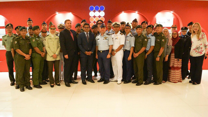 Defence Academy delegation visits LCB