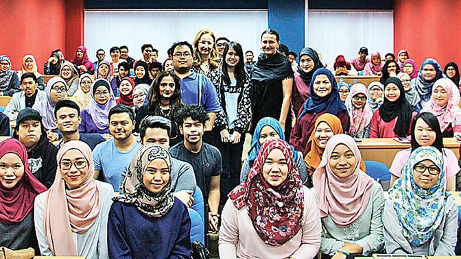 University of Chester representative visits LCB