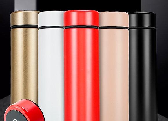 500ml Stainless Steel LED Digital Temperature Measuring Vacuum Cup
