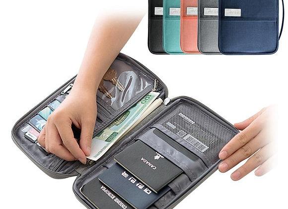 Waterproof Passport Travel Wallet Document Organizer