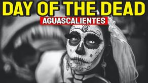 Celebrating Dia De Los Muertos Aguascalientes Mexico