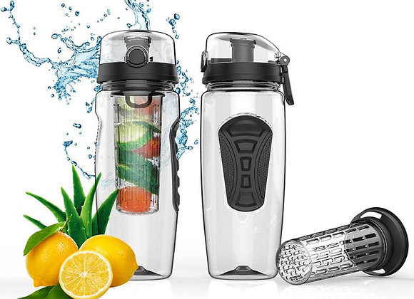 32oz 900ml BPA Free Fruit Infuser Juice Shaker Water Bottle