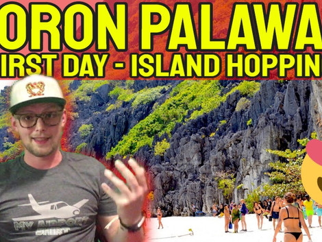 Island hopping Tours In Coron, Philippines End Of Summer
