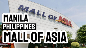 Mall of Asia in Manila, Philippines with Amusement Park Seaside