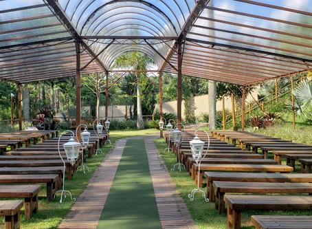 Tendas e Coberturas para Casamentos ao ar livre