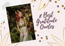 8 Best Gratitude Quotes
