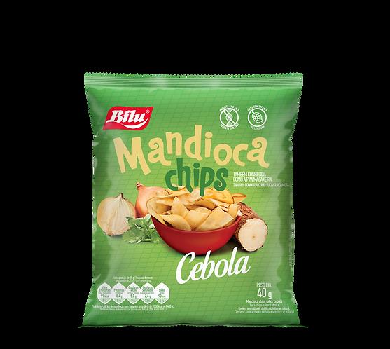 Mandioca Chips Cebola 40g - 20un