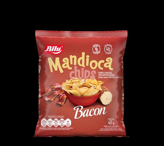 Mandioca Chips Bacon 40g - 20un