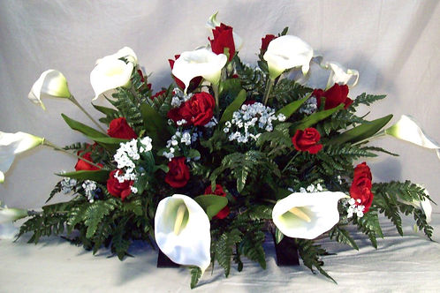 Calla Lilly and Rose