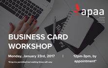 Business Card Workshop