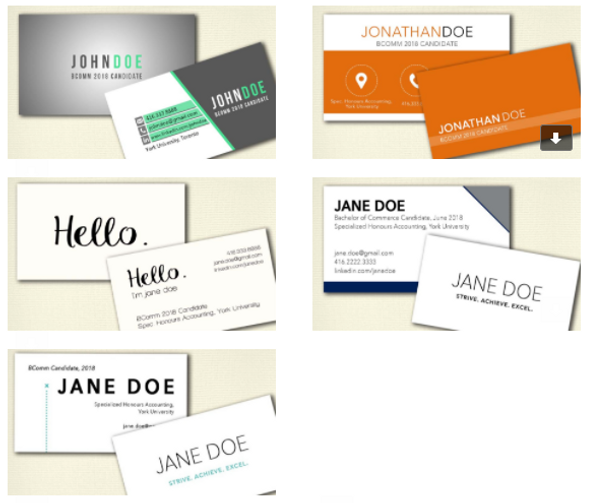 Professional accounting business cards image collections card business card workshop atkinson professional accounting assocation examples of student business cards reheart image collections colourmoves