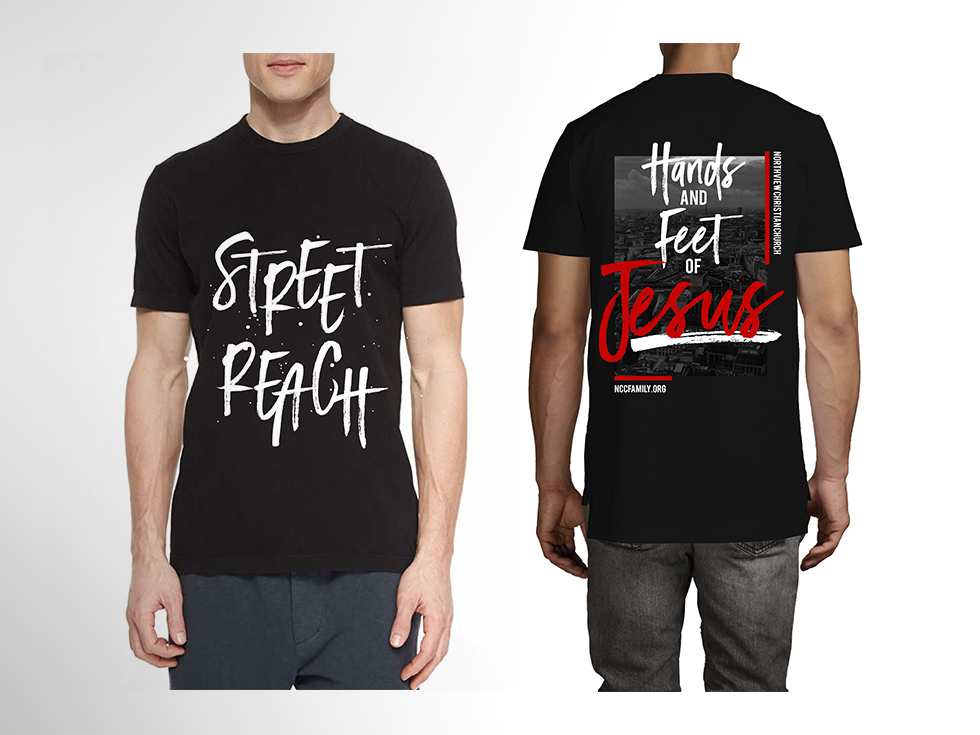 Street Reach Local Missions Launch T-Shirts