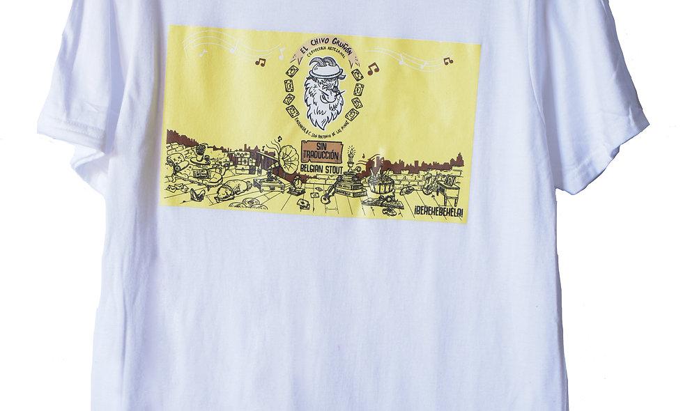 """Camiseta Blanca """"Sin Traducción"""""""