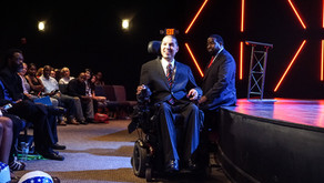 How I Used My Wheelchair as Leverage to Become an International Speaker