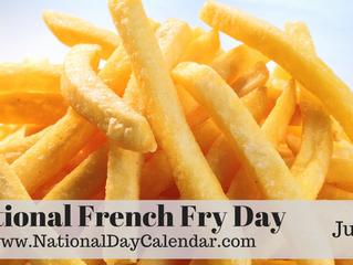 #NationalFrenchFryDay