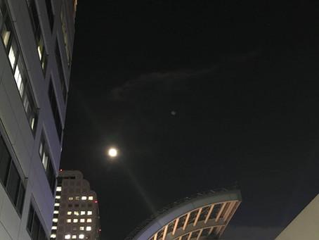 今宵は特別な満月