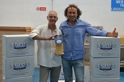 Luca Capannelli Pasta Lagano and Marco Z