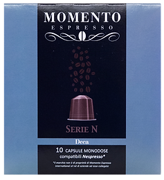 Nespresso compatible pods Deca
