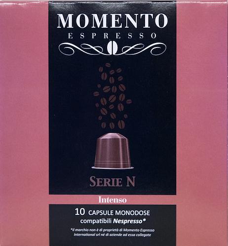 Intenso compatible Nespresso 10 capsules