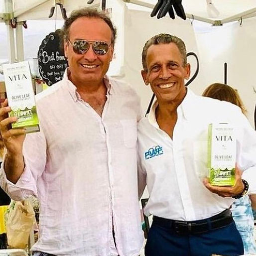Marco Zanna and Elliot Durant of Pure Water Factory Coral Gables