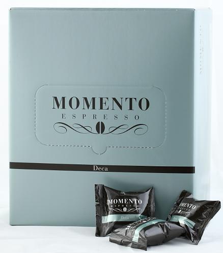 Deca 100 capsules, for Momento Espresso machine