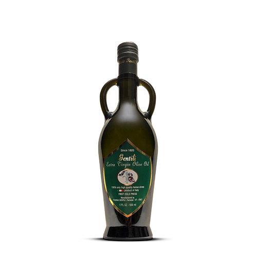 16,9 FL OZ Extra Virgin Olive Oil Gentili