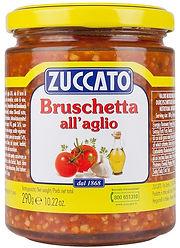 Bruschetta with garlic
