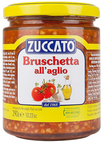 Bruschette Sauce with Garlic