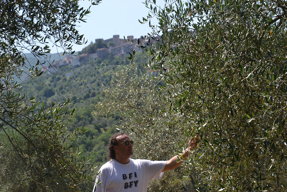 Marco Zanna in Monteroduni, Italy