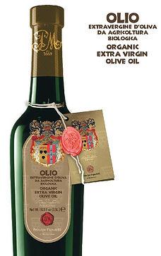 organic extra virgin olive oil, Principe Pignatelli