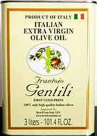Olive oil Gentili Tin