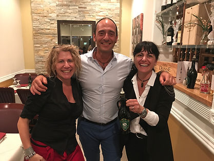 Romolo Gentili at Le Sorelle Restaurant
