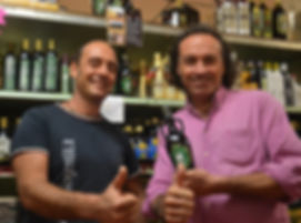 Romolo Gentili and Marco Zanna at Laurenzo's Italian Market
