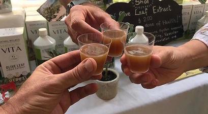 Cin Cin with olive leaf extract