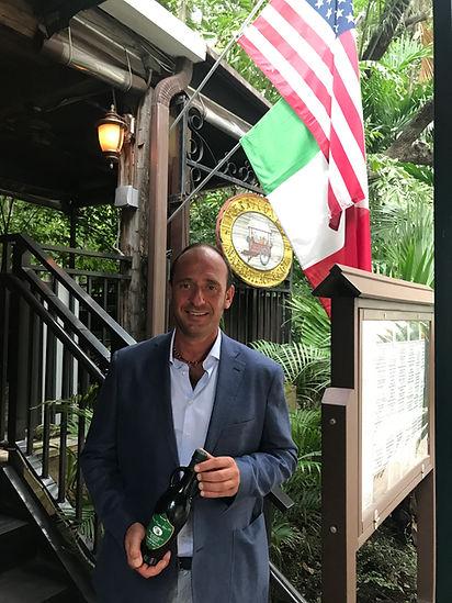 Romolo Gentili at Perricone's Brickell