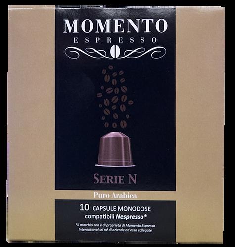 Puro Arabica compatible Nespresso 10 capsules