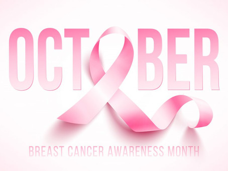 October is The Breast Cancer Awareness Month.
