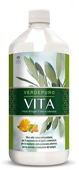 Olive Leaf Extract, liquid Verde Puro Vita