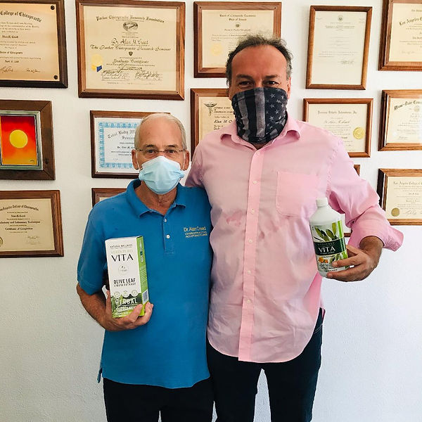 Marco Zanna and Dr. Alan Creed in Coral Gables