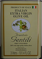 102 FL OZ Olive Oil Gentili