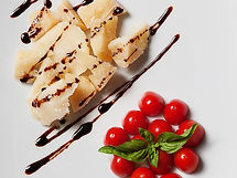 Balsamic Vinegar Acetaia Marchi and parm