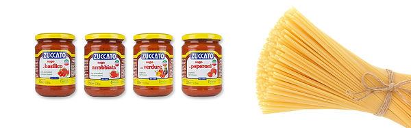 Pasta ready sauces Zuccato