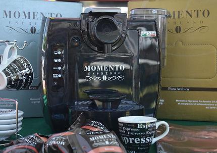 Espresso and cappuccino machine Momento Espresso