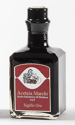 Balsamic vinegar of Modena Acetaia Marchi Sigillo Oro