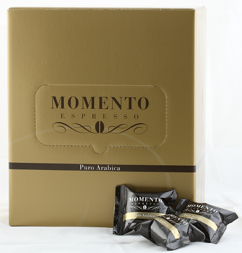 Puro Arabica 100 capsules, for Momento Espresso machine