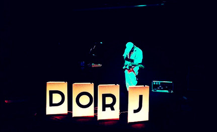 Dorj stage lights