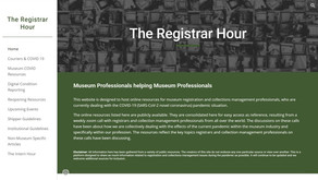 Free Digital Internship learning series from The Registrar Hour - The Intern Hour