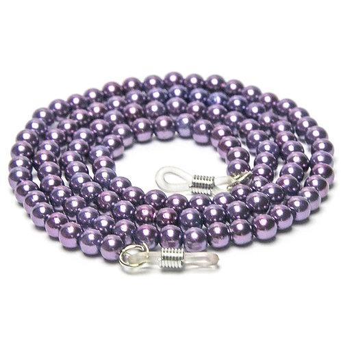 Cordão para óculos perolado - Purple