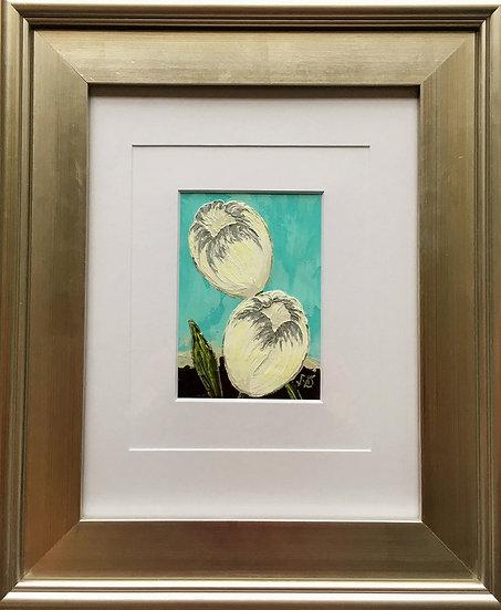 "Tulips Duo II 5"" x 7"" (frame 19"" x 16"")"